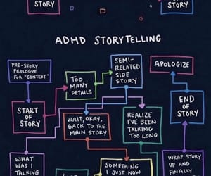 story, true, and adhd image