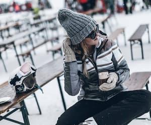 blogger, fashion, and chocolat chaud image