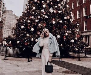 christmas, fashion, and beauty image