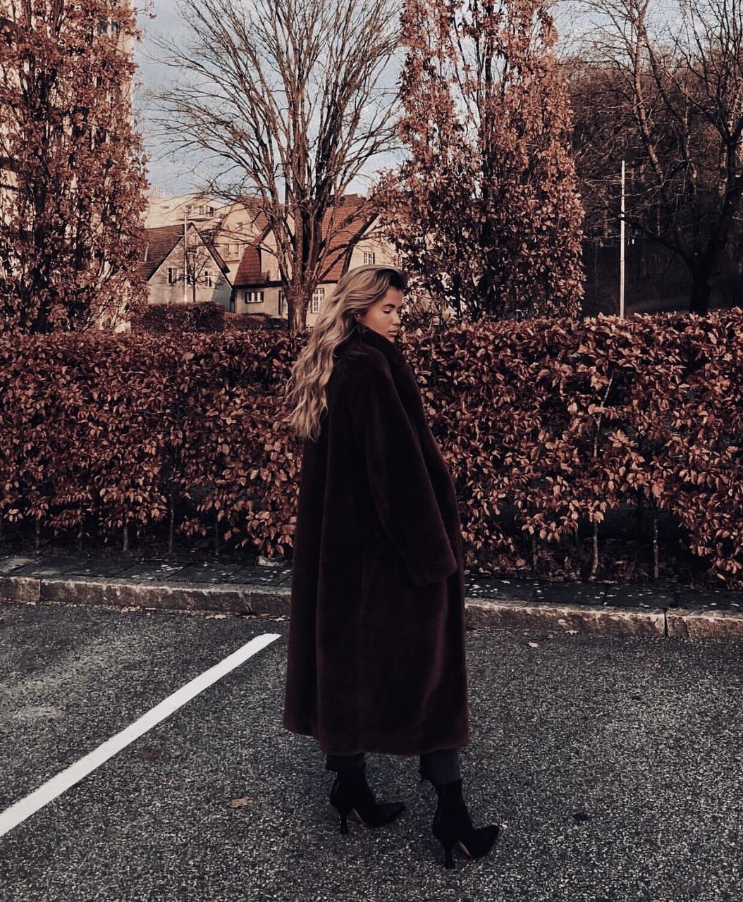 autumn, blonde, and coat image