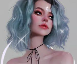 anime, girls, and art image