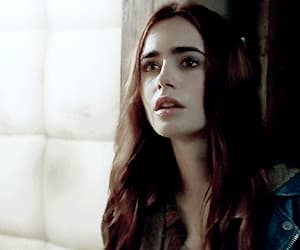 gif, clary fray, and lily collins image