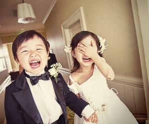 wedding, kids, and child image