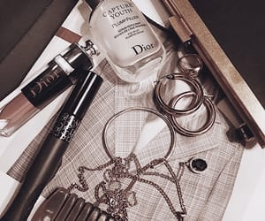 jewelry, cosmetics, and dior image