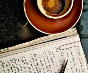 coffee and writing image