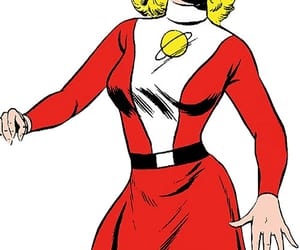 dc comics, saturn girl, and legion of super heroes image