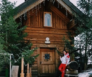 chalet, housegoals, and inverno image