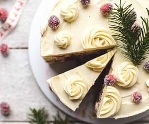 cake, christmas, and fashion image