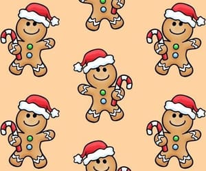 background, christmas, and pattern image