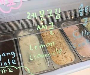 aesthetic, theme, and ice cream image