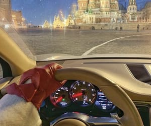 car, moscow, and russia image