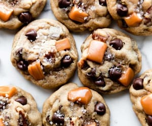 Cookies, caramel, and chocolate image