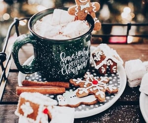 christmas, winter, and Cookies image