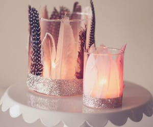 candle, love, and home decor image