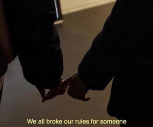 love, rules, and couple image