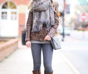 cardigan, poncho, and scarf image