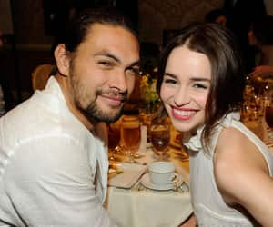 jason momoa and emilia clarke image