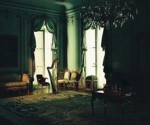 room, vintage, and dark image