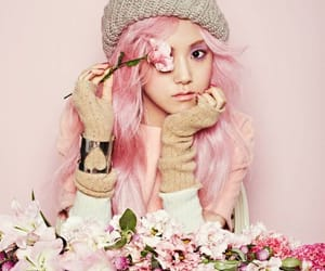 4, pink, and kpop image