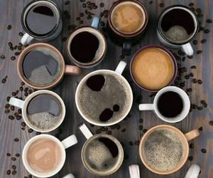 coffee, cup, and cafe image