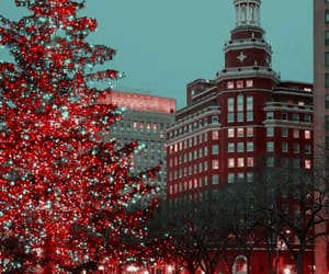 aesthetic, architecture, and christmas image