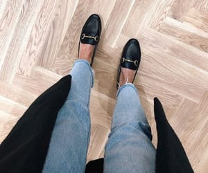 fashion, gucci, and loafers image