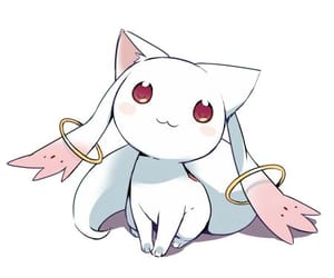 kyubey, anime, and kawaii image