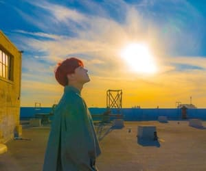atardecer, tumblr, and j-hope image