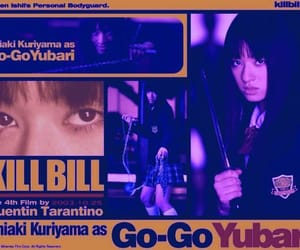 fatal, Gogo Yubari, and kill bill image