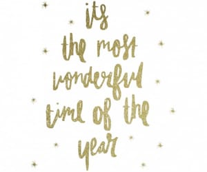 christmas, quotes, and gold image
