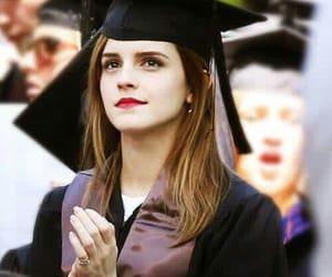 emma watson and graduation image