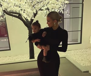 kylie jenner, stormi, and kylie image