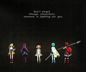 anime, madoka magica, and cry image