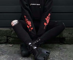 black, alternative, and grunge image