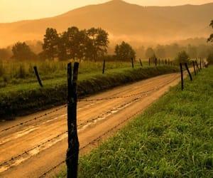 landscape, sunset, and usa image