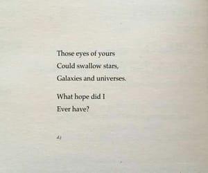 eyes, stars, and universes image