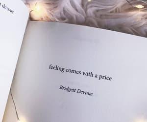 feelings, price, and bridgett devoue image