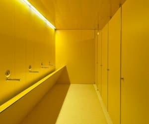 yellow and bathroom image