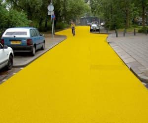 yellow, aesthetic, and street image