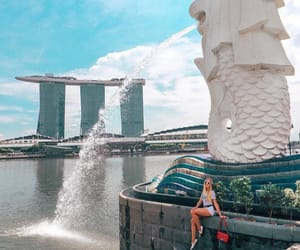 singapore, touristattraction, and newyear image
