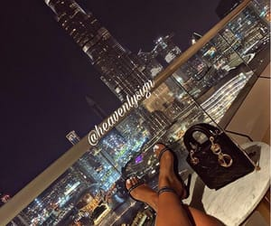 city, girl, and legs image