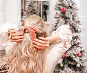 blonde, christmas, and youtube image
