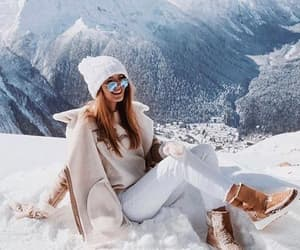girl, winter, and fashion image