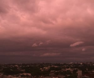 montevideo, sky, and violeta image