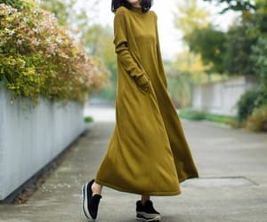etsy, knitted dress, and long dress image