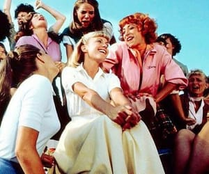 girl, grease, and movie image
