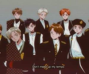 exo, aesthetic, and anime image