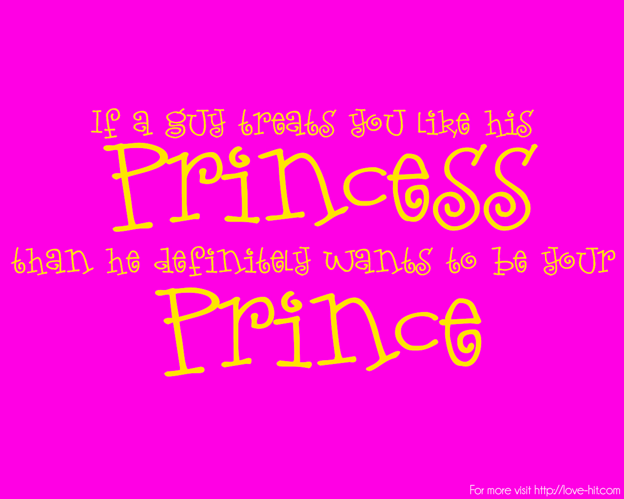 Cute Love Quotes Cute Princess Love Quote Discoveredlove Quotes