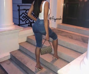 gucci high heels, brune brunette, and goal goals life image