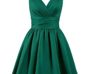 homecoming dresses, cheap homecoming dresses, and v-neck prom dress image